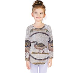 Sousse Mosaic Xenia Patterns Kids  Long Sleeve Tee