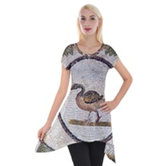 Sousse Mosaic Xenia Patterns Short Sleeve Side Drop Tunic
