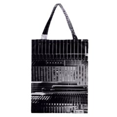 Urban Scene Street Road Busy Cars Classic Tote Bag