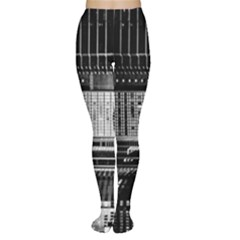 Urban Scene Street Road Busy Cars Women s Tights