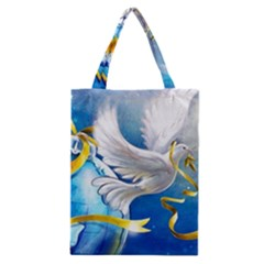 Turtle Doves Christmas Classic Tote Bag