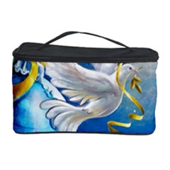 Turtle Doves Christmas Cosmetic Storage Case