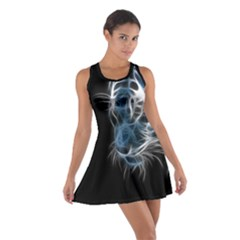 Ghost tiger Cotton Racerback Dress