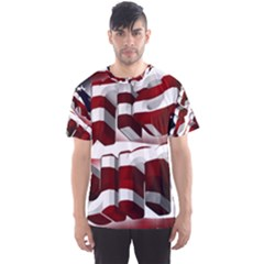 Usa America Trump Donald Men s Sport Mesh Tee