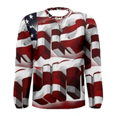 Usa America Trump Donald Men s Long Sleeve Tee