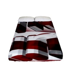 Usa America Trump Donald Fitted Sheet (Full/ Double Size)