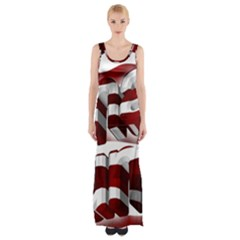 Usa America Trump Donald Maxi Thigh Split Dress