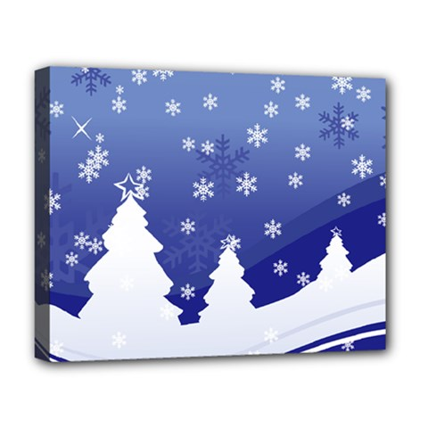 Vector Christmas Design Deluxe Canvas 20  x 16