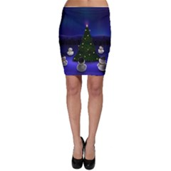 Waiting For The Xmas Christmas Bodycon Skirt