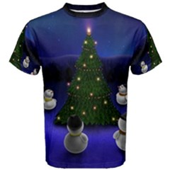 Waiting For The Xmas Christmas Men s Cotton Tee