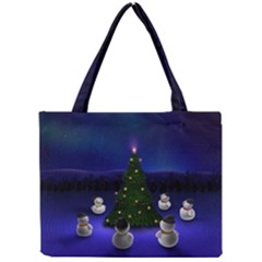 Waiting For The Xmas Christmas Mini Tote Bag