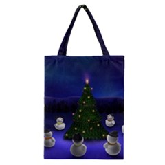 Waiting For The Xmas Christmas Classic Tote Bag