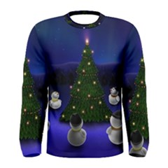 Waiting For The Xmas Christmas Men s Long Sleeve Tee