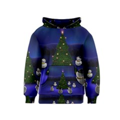 Waiting For The Xmas Christmas Kids  Pullover Hoodie