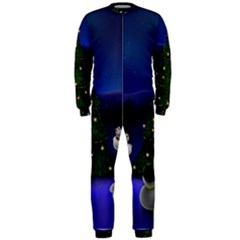 Waiting For The Xmas Christmas OnePiece Jumpsuit (Men)