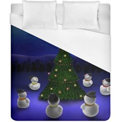 Waiting For The Xmas Christmas Duvet Cover (California King Size)