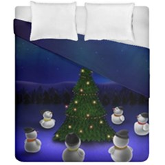 Waiting For The Xmas Christmas Duvet Cover Double Side (California King Size)