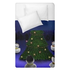 Waiting For The Xmas Christmas Duvet Cover Double Side (Single Size)