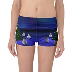 Waiting For The Xmas Christmas Reversible Bikini Bottoms