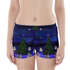 Waiting For The Xmas Christmas Boyleg Bikini Wrap Bottoms