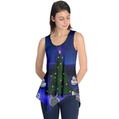 Waiting For The Xmas Christmas Sleeveless Tunic