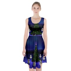 Waiting For The Xmas Christmas Racerback Midi Dress