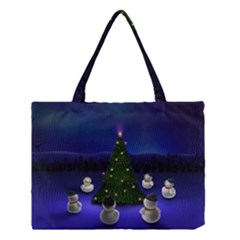 Waiting For The Xmas Christmas Medium Tote Bag