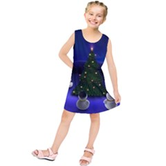 Waiting For The Xmas Christmas Kids  Tunic Dress