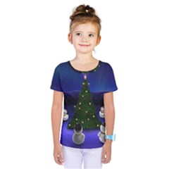 Waiting For The Xmas Christmas Kids  One Piece Tee