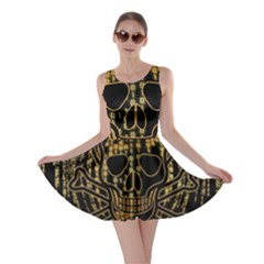 Virus Computer Encryption Trojan Skater Dress