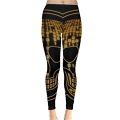 Virus Computer Encryption Trojan Leggings
