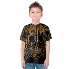 Virus Computer Encryption Trojan Kids  Cotton Tee