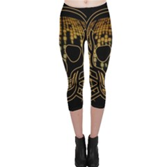 Virus Computer Encryption Trojan Capri Leggings