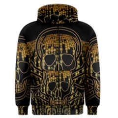 Virus Computer Encryption Trojan Men s Zipper Hoodie