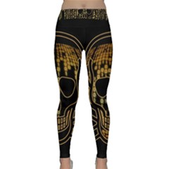 Virus Computer Encryption Trojan Classic Yoga Leggings