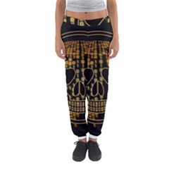 Virus Computer Encryption Trojan Women s Jogger Sweatpants