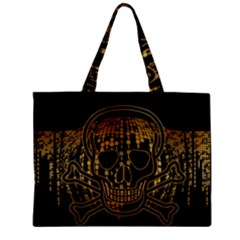 Virus Computer Encryption Trojan Zipper Mini Tote Bag