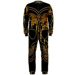 Virus Computer Encryption Trojan OnePiece Jumpsuit (Men)