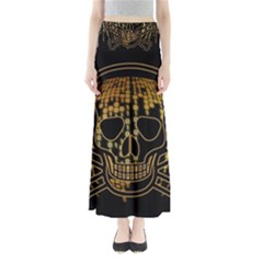 Virus Computer Encryption Trojan Maxi Skirts