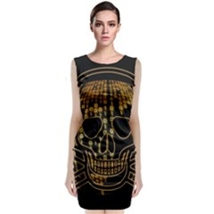 Virus Computer Encryption Trojan Classic Sleeveless Midi Dress