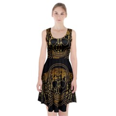 Virus Computer Encryption Trojan Racerback Midi Dress