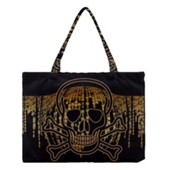 Virus Computer Encryption Trojan Medium Tote Bag