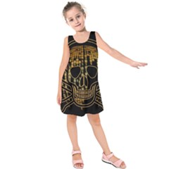 Virus Computer Encryption Trojan Kids  Sleeveless Dress