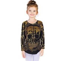 Virus Computer Encryption Trojan Kids  Long Sleeve Tee