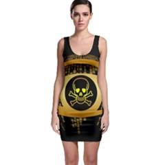 Virus Computer Encryption Trojan Sleeveless Bodycon Dress