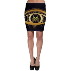 Virus Computer Encryption Trojan Bodycon Skirt
