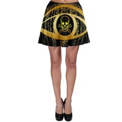 Virus Computer Encryption Trojan Skater Skirt