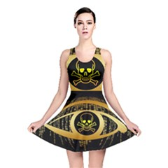 Virus Computer Encryption Trojan Reversible Skater Dress