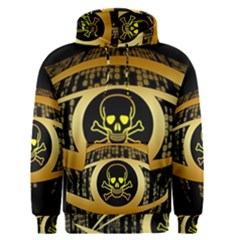 Virus Computer Encryption Trojan Men s Pullover Hoodie