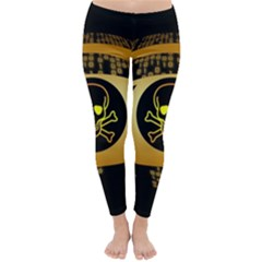Virus Computer Encryption Trojan Classic Winter Leggings